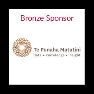 Bronze Sponsor: Te Pūnaha Matatini