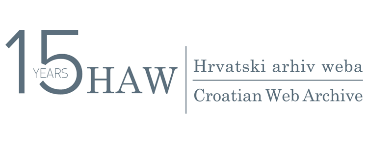 HAW: Croatian Web Archive