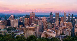 Photo de la Ville de Montréal de nuit